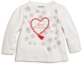 3 Pommes Girls' Love Princess Tee - Baby