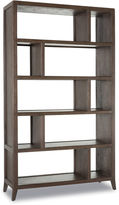One Kings Lane Hudson Bookcase, Tobacco