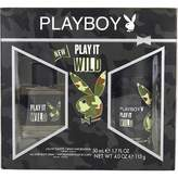 Coty Playboy Play It Wild 2 Piece Gift Set for Men