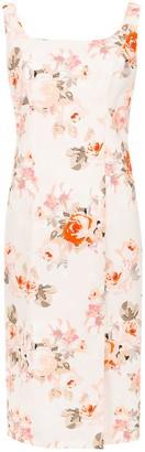 Reinaldo Lourenço Slim Fit Floral Dress