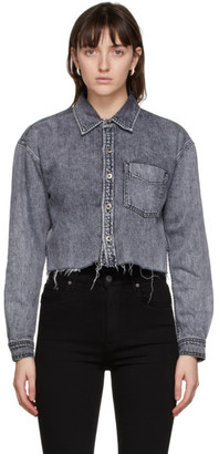 GRLFRND Grey Denim Christy Shirt