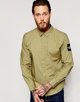 The North Face Shirt With Tnf Sleeve Patch Slim Fit