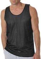 Badger B8529 Reversible Mesh Tank - Black / White BD8529 XL