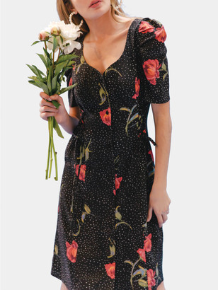 Lovefool Double Laceup Mini Dress