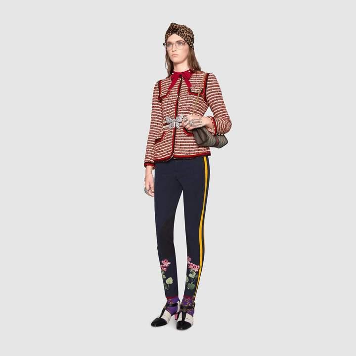 Gucci Striped tweed jacket