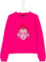 John Richmond Kids stone embellished sweatshirt