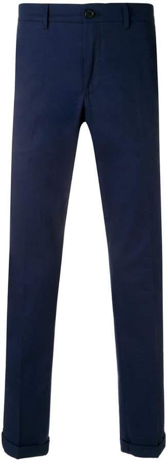 Prada turn up trousers