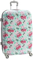 Pottery Barn Teen Hard-Sided Checked Spinner, Garden Party Floral