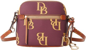 Dooney & Bourke Monogram Domed Crossbody