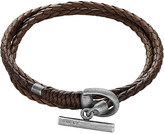 Gucci Wrap leather bracelet