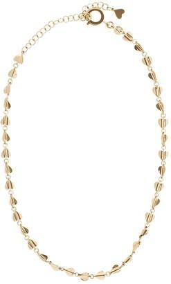 Cadar 18kt rose gold Wings of Love short necklace