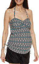 A.N.A a.n.a Diamond Tankini Swimsuit Top-Maternity