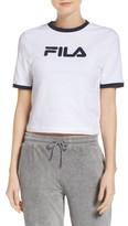 Fila Women's Tionne Logo Crop Tee