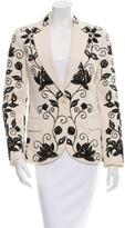 Chloé Embroidered Single-Button Blazer