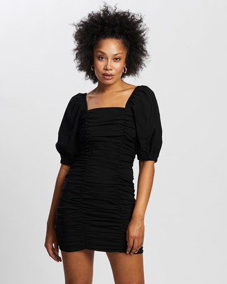 Dorothy Perkins Ruched Mini Dress