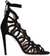 Aquazzura ankle lace-up stiletto sandals