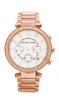 Michael Kors Parker Watch in Rose.