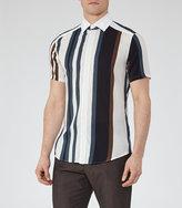 Reiss Sidney Short Sleeve Striped Shirt