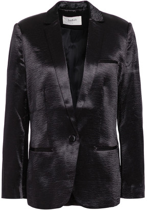 BA&SH Carina Crinkled-satin Blazer