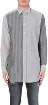 Diesel S-filter striped cotton shirt