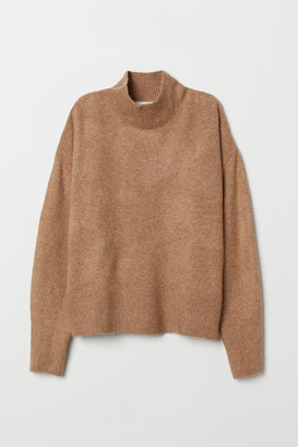 H&M Fine-knit Sweater - Beige