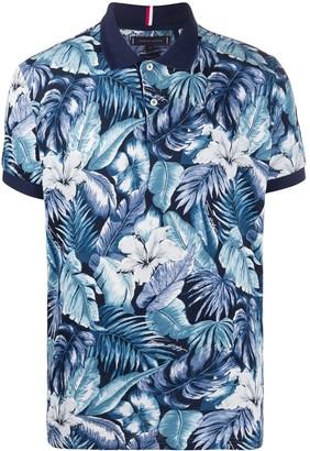 Tommy Hilfiger Tropical Print polo shirt