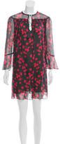 Rachel Zoe Silk Printed Dress