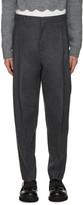 Acne Studios Grey Flannel Piano Trousers
