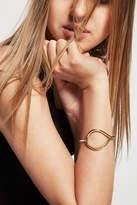 BCBGeneration Two-Tone Hinge Bracelet