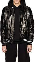 RtA Men's Logo Tech-Fabric Bomber Jacket