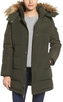 MICHAEL Michael Kors Women's Basic Parka With Faux Fur Trim