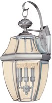 Sea Gull Lighting 3 Light Lancaster Brushed Nickel Wall Lantern