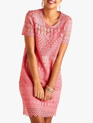 Yumi Lace Floral Tunic Dress