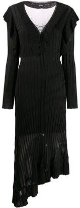 Just Cavalli striped knit maxi dress
