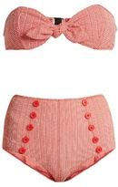 Lisa Marie Fernandez Poppy striped bikini