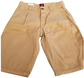 Gucci Camel Cotton Shorts