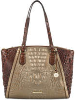 Brahmin Emerson Rose Gold Provence Large Tote