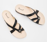 Think! Leather Strappy Sandals- Julia
