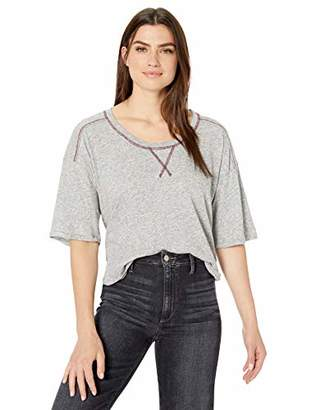 Splendid Women's Scoop Neck Dolman Sleeves Tee T-Shirt