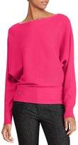Lauren Ralph Lauren Stretch Cotton Dolman Sweater