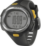 Soleus PR Mens Black and Yellow Strap Running Digital Sport Watch