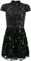 Alice + Olivia Alice+Olivia - embellished lace dress - women - Nylon/Polyester/Spandex/Elastane - 6
