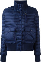 Moncler classic puffer jacket - women - Feather Down/Polyamide/Polyester/Polyimide - 0