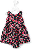 Armani Junior starfish print dress set - kids - Cotton/Polyamide/Spandex/Elastane - 9 mth