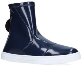 Fendi Kids Basketball Charm Hybrid Rain Boots
