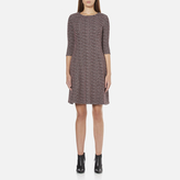 BOSS ORANGE Women's Dacoco Jersey Dress Multi