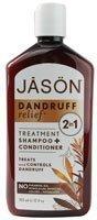 Jason Dandruff Relief 2 In1 Shampoo + Conditioner -- 12 Fl Oz