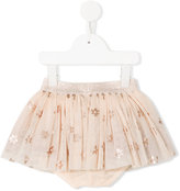 Stella McCartney floral print Honey skirt - kids - Cotton/Polyester - 6 mth