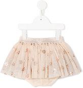 Stella McCartney floral print Honey skirt - kids - Cotton/Polyester - 9 mth