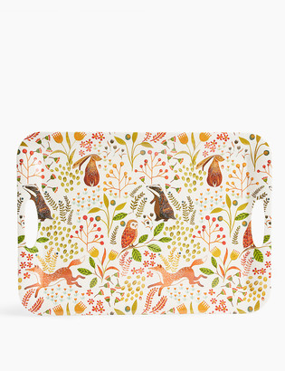 Marks and Spencer Woodland Print Tray